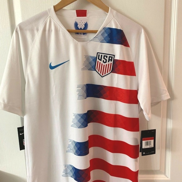 premium selection e75df 80667 Nike USA Soccer USMNT Christian Pulisic Jersey NWT